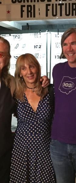 Randy Malloy, Roger Earl and Linda Earl
